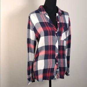 Rails Button Down Flannel worn twice
